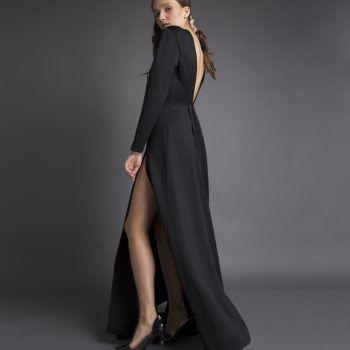 vestido-mujer-largo-negro-minoutauro